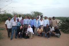 Field visit to spate irrigated area in Sudan (Credit: MetaMeta, 2012)