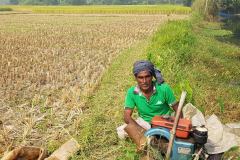 Multiple cropping in coastal Bangladesh  (Credit: Frank van Steenbergen, MetaMeta, 2018)
