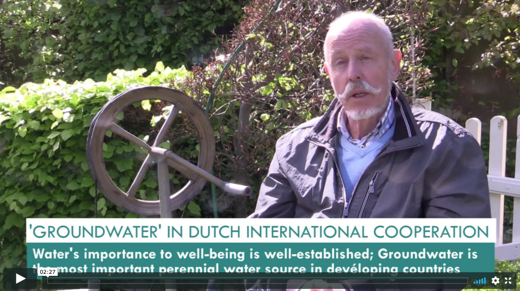 Dutch International Cooperation in Groundwater Management