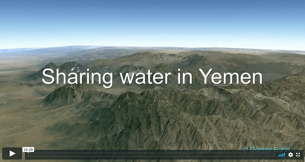 Sharing Water in Yemen