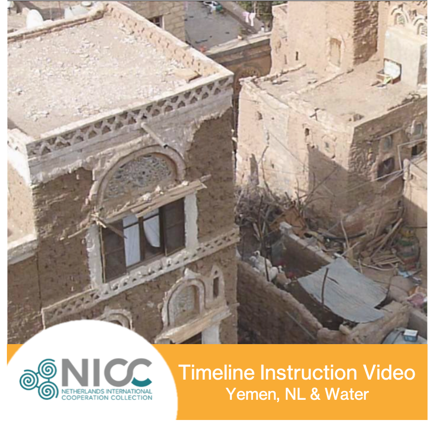 Instruction video -timeline Yemen